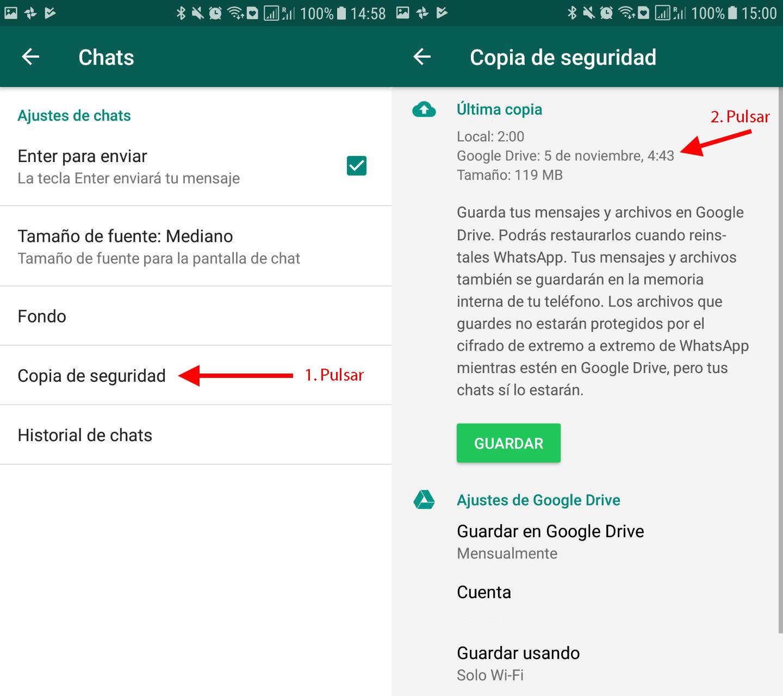 recuperar fotos de whatsapp sin copia de seguridad