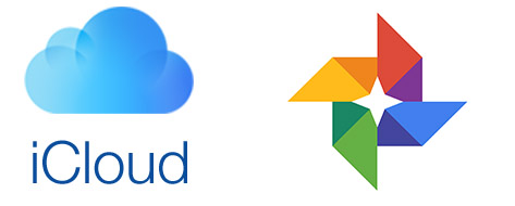 diferencias de icloud y google fotos