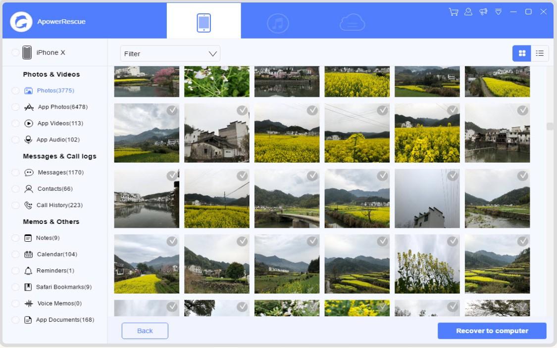 recuperar informacion borrada conapowersoft para iPhone