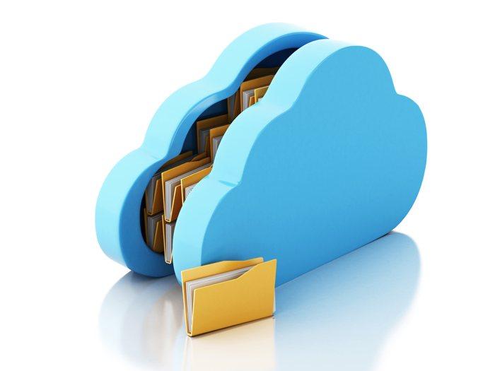 alojar archivos en la nube